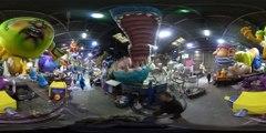 Carnaval de Nice 2017 - VIDEO 360 - Au coeur des préparatifs avec les carnavaliers