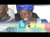 Conference de presse Mimi Touré aprés les premier tendance du référendum (Francais)