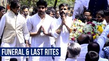 Suniel Shetty Father Veerapa Shetty's FUNERAL  Bollywood Celebrities Pay Condolence