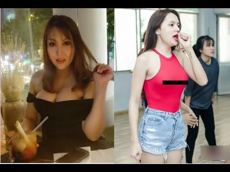 Hương Giang Idol chuyên khoe ngực nhưng cũng phải toát mồ hôi khi đứng cạnh Phi Thanh Vân