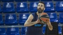 FCB Basket: Navarro afina la seva punteria a l'entrenament