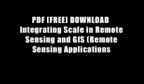INTRODUCTION TO REMOTE SENSING & GIS INTEGRATION (IN HINDI