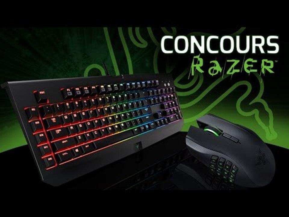 Concours Razer : Clavier BlackWidow et Souris Naga à gagner