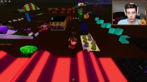 DENIS DAILY ROBLOX! Spooky Halloween Obby Evil Zombies and Ghosts!