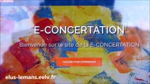 02.02.17 Concertation - Rencontre avec les habitants sur le marché des Sablons