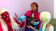 Spiderman & Frozen Elsa vs Maleficent & Evil Elsa: Ugly Spiderman Superheroes in real life