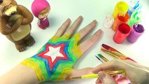 LEARN COLORS with color Hand | body paint top rainbow colors Finger | colors for kids