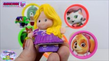 Learn Colors Disney Nick Jr PJ Masks Paw Patrol Play Doh Toys Surprise Egg and Toy Collector SETC
