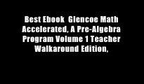 Download Glencoe Math Accelerated Student Edition (MERRILL PRE