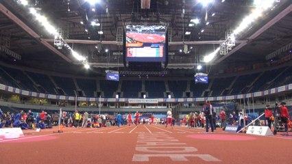 Premiers pas des Bleus à la Kombank Arena