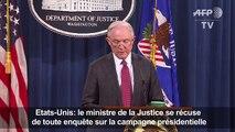 USA: Sessions se récuse de toute enquête sur la campagne