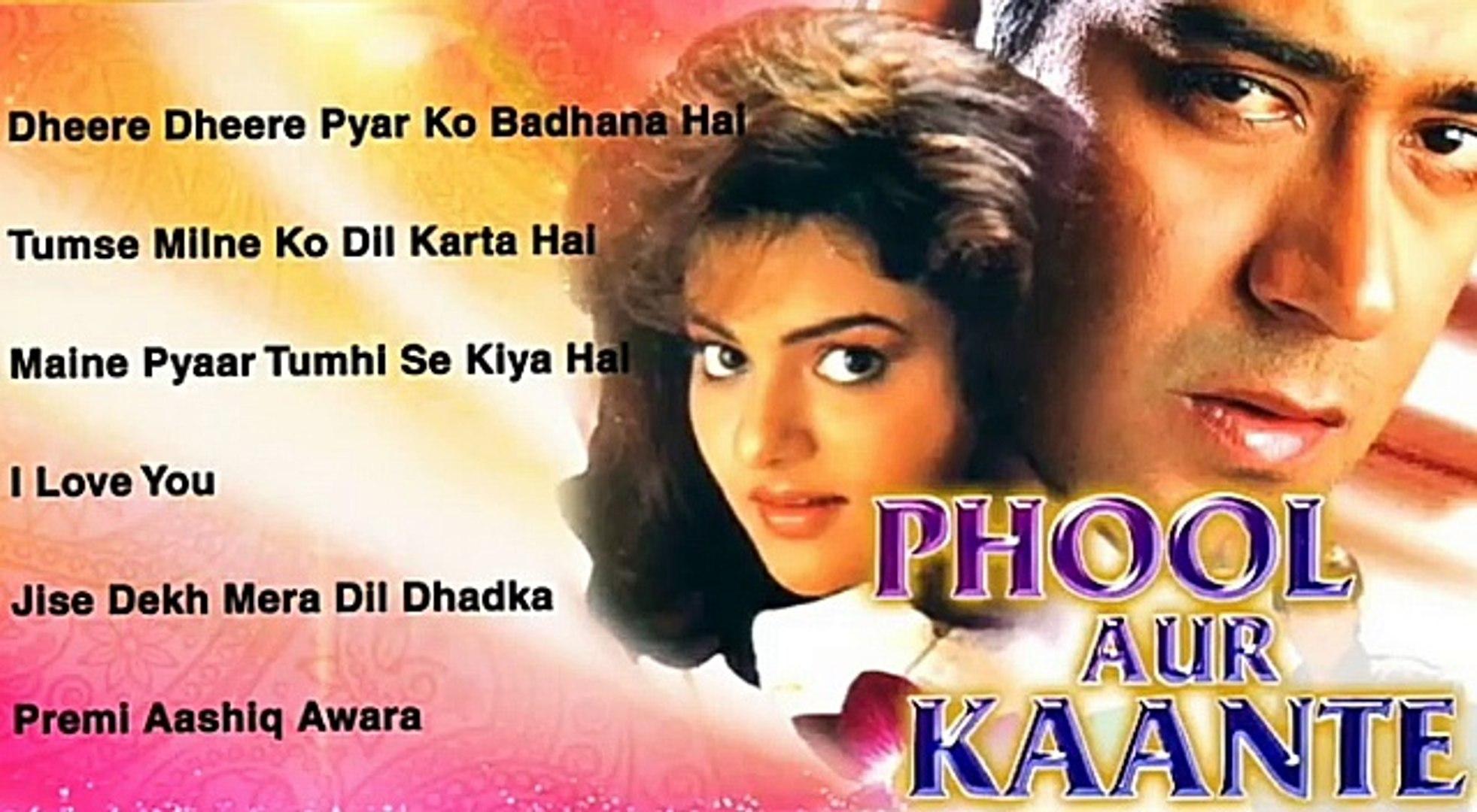 Phool Aur Kaante Movie Song