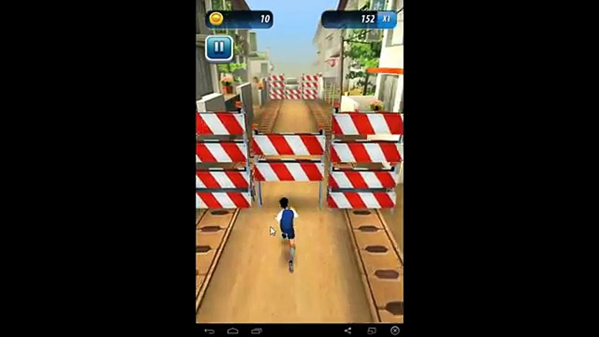 Soccer Runner: Football rush! ( Аналог Игры - Subway Surfers ) - for Android and iOS GamePlay