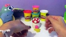 Smurfs Village Play Doh Smurfette Hefty Smurf Papa Smurf Brainy Smurf