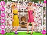 Игра одевалка: Эльза и Рапунцель и Анна Принцесса прополка, Эльза и принцессы Свадебные, детские игры