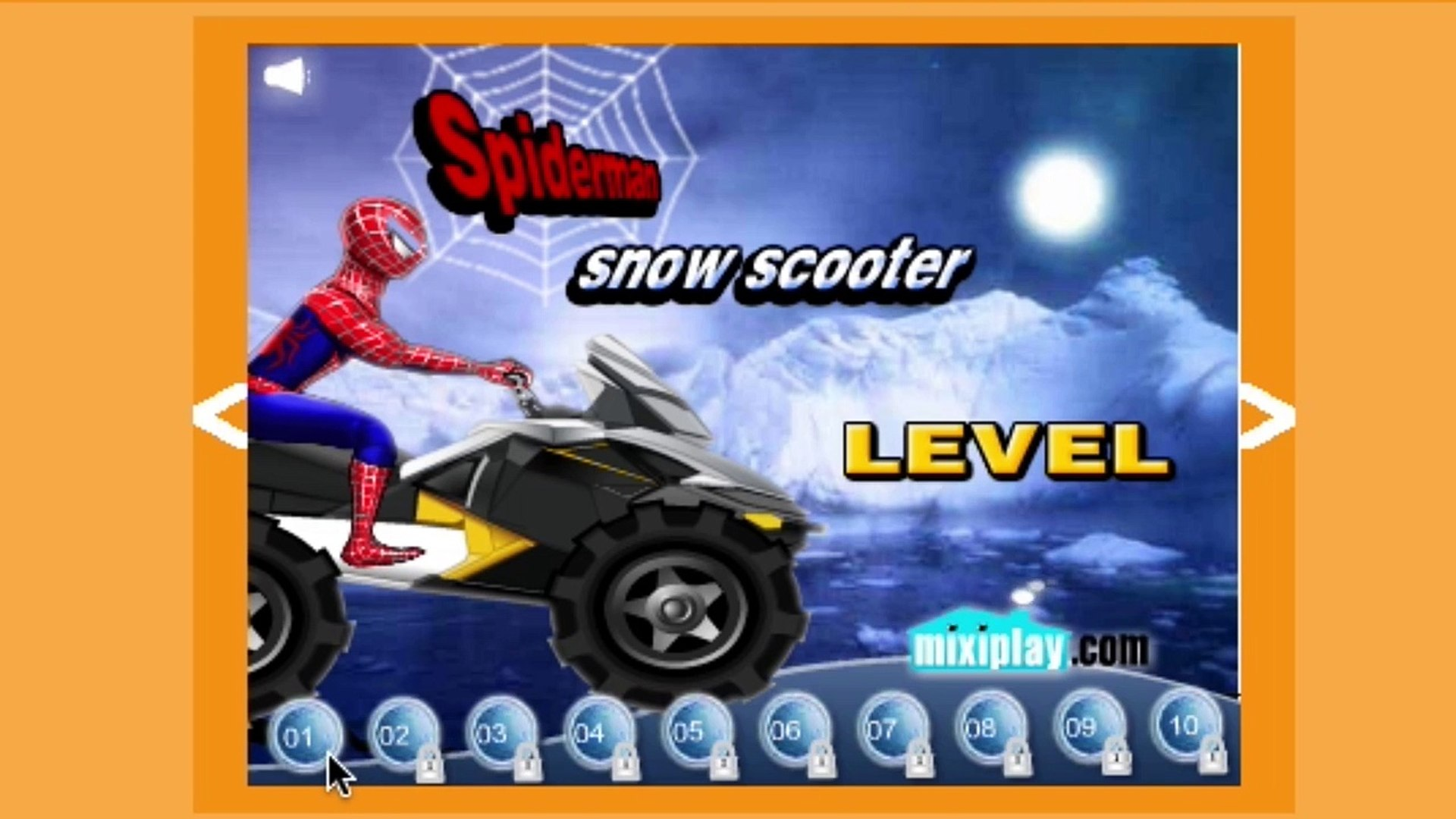Spider Man | Snow Scooter | So Gaming Kids