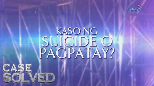 Case Solved Teaser Ep. 3: Suicide or pinatay?