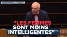 """Un eurodéputé : """"Les femmes sont moins intelligentes donc elles doivent gagner moins"""""""
