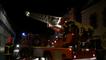 Le bar Le Scoop a pris feu, rue du Maréchal-Foch