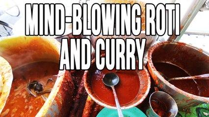 Malaysian Street Food in Penang | Incredible Roti Canai At Transfer Road