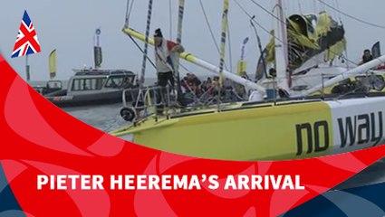 D116 : Pieter Heerema's arrival / Vendée Globe
