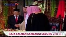 Kedatangan Raja Salman ke Gedung DPR RI