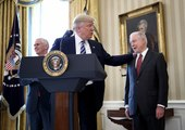 President Trump defends Sessions, accuses democrats of 'Witch Hunt'