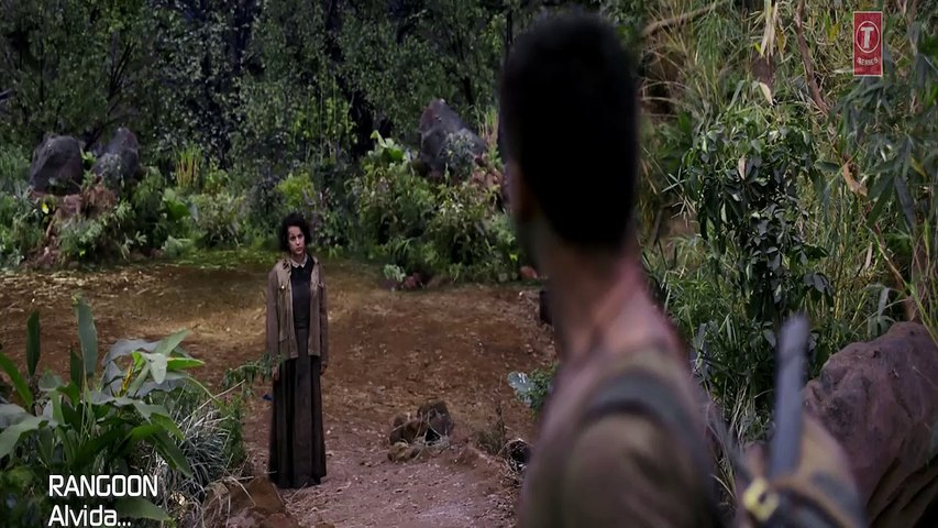 HD_Alvida Video Song_Rangoon_Saif Ali Khan_Kangana Ranaut_Shahid Kapoor