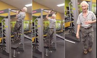 Incredible 90-year-old does 24 pull-ups on his birthday _ #Social Media Viral News 2017
