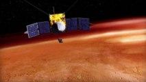 La nave MAVEN a punto de estrellarse contra la luna Fobos de Marte y esta fue la solución de la NASA