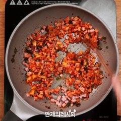 김치와 치즈의 꿀조합♥ 김치치즈김밥 [만개의레시피]