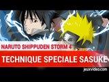 Naruto shippuden 4 : SASUKE TECHNIQUE SPECIALE - Lumière céleste