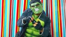 Spiderman Vs Joker Vs Hulk Vs Frozen Elsa - Videogames - Banana & Play Doh Prank - Fun Sup