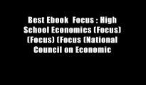 Best Ebook  Focus   High School Economics (Focus) (Focus) (Focus (National Council on Economic