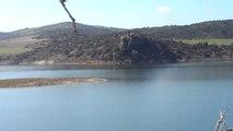 An aquatic surface in Bouira province, Algeria..مساحة مائية في ولاية البويرة