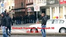 Eintracht Frankfurt - Darmstadt 98 SGE Hooligans vs Lilies fans