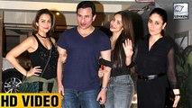 Kareena Kapoors House Party With Malaika Arora Khan Sara Ali And Soha