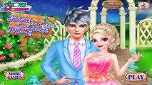 BOY AND ELSA DATING - disney princess elsa frozen dating game for girls