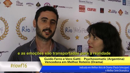 RIOWF16 Abertura - Entrevista com Psychosomatic
