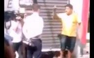 Revoltado com a manipulação, homem é abordado por equipe da Globo e chama emissora de golpista na cara do repórter