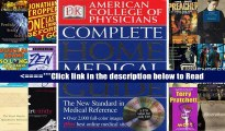 American College of Physicians Complete Home Medical Guide (with Interactive Human Anatomy CD-ROM)