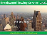 Brookwood Towing Service (248) 655-7039