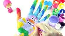 Изучаем цвета видео для детей бодиарт   учим цвета с DreamWorks троллей живописи