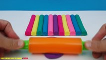 Aprender A Enseñar Los Colores A Los Niños Niño Los Juguetes De Los Bebés De Los Niños De Play Doh Arco Iris Helado De Juguete Sorpren