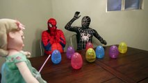 Spiderbaby Poo, Fart and Pees on Spidermans Face Prank Videos Superhero Stop Motion Video