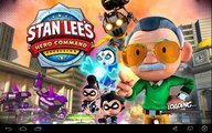 Stan Lees Hero Command (By F84 Games) - iOS / Android - Gameplay Video