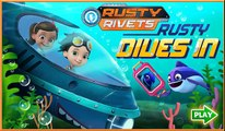 Rusty Rivets: Rusty Dives In. NEW! Game For Kids.