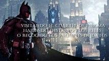 BATMAN ARKHAM ORIGINS - ENIGMAS SECRET ROOM - First Riddler Achievement / Trophy [HD]
