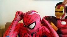 #SPIDERMAN vs SCREAM! w/ GhostFace FUNNY PRANK Spiderman Real Life Superhero Fun IRL