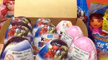 Kinder Surprise Eggs: Disney Frozen Kinder Surprise Eggs - Frozen Olaf Surprise Eggs